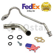 Updated Turbo Feed Line+drain Tube For 2003-2007 Ford F250 F350 Powerstroke 6.0l