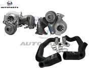 Upgraded Td04-19t Billet Twin Turbochargers+2inlet Pipes For Bmw 335i N54 3.0l