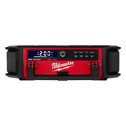 M18 Lithiumion Cordless Packout Radio Speaker Built-in Cord Usb Output Charger