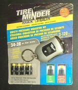 Tire Minder Max Safety Valve Caps Tire Pressure Indicators Brand New In Package
