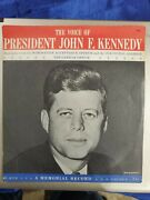The Voice Of President John F. Kennedy Record 45 Rpm Nomination Near Mint