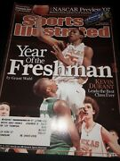 Kevin Durant 1st Sports Illustrated Issue -year Of The Freshman,texas Longhorns