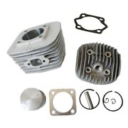 Cylinder Andcylinder Headand Piston Kit For 80cc Motorized Bicycle Bike New