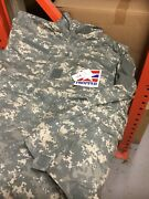 Digital Camo M-65 Coat Army M65 Jacket W/ Quilted Liner Large Long New/ Proper