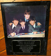 The Beatles 1959 Wall Plate Plaque