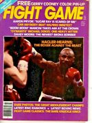 The Fight Game - July 1982 - Hagler / Hearns - Cover - Vg