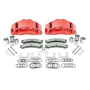 For Ford F-350 2013-2016 Ssbc A404-20r Barbarian Front Brake Calipers