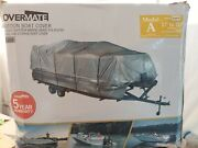 Covermate Pontoon Boat Cover 17-20andrsquo 600 Denier Polyester Silver R2-332