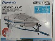 Covermate 300 Universal 14-16andrsquo V-hull Polyester Boat Cover R1-335