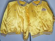 Los Angeles Lakers Nike Vintage 90s Silky Jackets Petite Woman Or Child Sizes