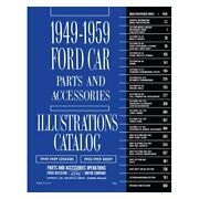 For Ford Thunderbird 55-59 1949-1959 Ford Car Parts/accessories Text And