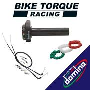 Domino Xm2 Quick Action Throttle And Universal Cables To Fit Ckr Bikes
