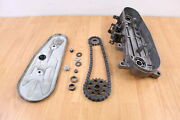 1978 Yamaha Enticer Et 250 Chain Case With Cover And Sprockets