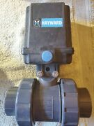 Hayward Ea2 Electric Actuator With True Union Ball Valve 2 Pvc New-quick Shippg