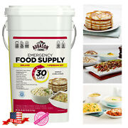 Emergency Food 20lbs Survival Supply Prepper Storage Bucket Mre 30 Day Rations
