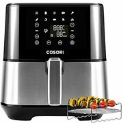 Digital Air Fryer Stainless Steel Large Xl Oven Oilless Cooker Kitchen Appliance