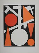 Auguste Herbin Abstract Composition, 1959. Original Numbered Screen-print