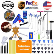 Super Pdr Tools Paintless Dent Repair Hail Removal Push Rods Dent Puller Lifter