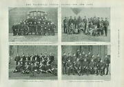 Antique Bandw Photographic Print 13th And 10th Hussars And 37th Field Battery 1899
