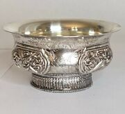 Art Deco Chinese Silver Footed Bowl 1920's,