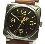 Bell&ross Golden Heritage Br03-92 Automatic Menand039s Watch_569132