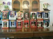 Anheuser-busch Budweiser Christmas Holiday Stein Collectionset From 1994-2007