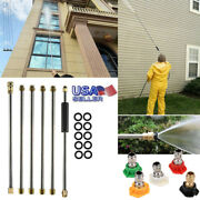 Pressure Washer Wand Extension Set 90inch/7.5ft Power Washer /spray Nozzle Tips