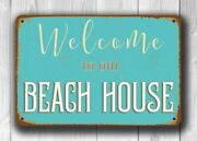 Beach House Signs - Welcome To Our Beach House Durable High Quality Indoor Or...