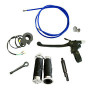 Blue Clutch Line And Clutch Lever For 49cc 60cc 66cc 80cc Motorized Bicycle