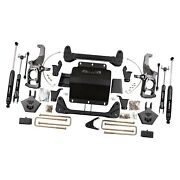 For Chevy Silverado 2500 Hd 11-17 Rbp 5 X 5 Front And Rear Suspension Lift Kit