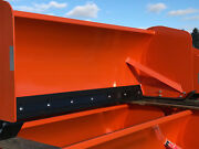Compact Tractor Snow Pusher 8' Box Pusher By Buyers Scoop Dogg Video..