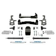 For Ford F-150 15-19 Fabtech 4 X 2.25 Basic Front And Rear Suspension Lift Kit