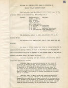 Thomas A. Edison - Corporate Minutes Signed 06/12/1926 With Co-signers