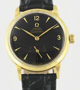 Omega Seamaster Bumper Automatic 18kt Gold Cal 340 Mens Wrist Watch 1944