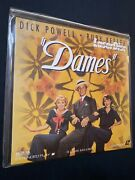 Dames 1934 Dick Powell Laserdisc Very Good Condition - Private Collection