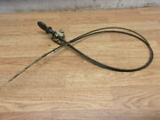 Troy Bilt Super Bronco Riding Mower 21 Hp Briggs Choke And Throttle Cable