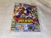 Mario And Sonic At The London 2012 Olympic Games Nintendo Wii Korean, Brand New