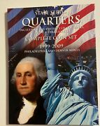 Complete 112 Coin P And D Statehood Quarters 1999-2009 Statue Of Liberty Album