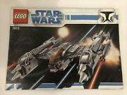 Lego Star Wars Set 7673 Magna Guard Starfighter Instruction Manual Only