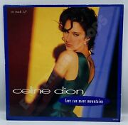 Celine Dion Love Can Move Mountains 12'' Single Vinyl Uk Release 1992