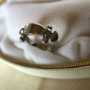 Louis Vuitton Stand By Me Ring White Gold Size 48 Genuine Women