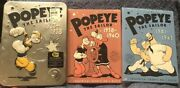 Popeye The Sailor Volume 1,2,3 Volume 1 Has A Limited Edition Tin Case Best Buy