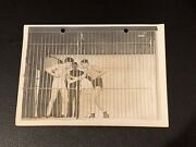 1912 Georges Carpentier Square Up In Cell Type 1 Vintage Boxing Photo Psa Ready