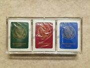 New Vtg Sealed 2003 American Embassy Kuwait Most Wanted Playing Cards 3 Decks