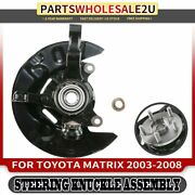 Front Lh Steering Knuckle Wheel Hub And Bearing Assembly For Toyota Matrix 03-08
