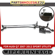 Windshield Wiper Transmission With Motor For Audi Q7 2007-2012 4l1910113 Front