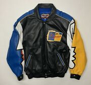 Rare Vintage Jeff Hamilton Pabalo Picasso Leather Jacket Made In Usa Art