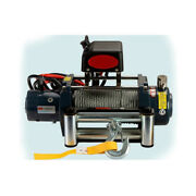 Kk Universal Kds-8.0 8000lb Pound Electric Recovery Winch 12v Steel Cable Rope