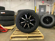 20x9 Moto Metal Mo970 Wheels 33 Goodyear At Tires 6x135 Ford F150 Expedition
