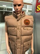 8732 Workwear Division Reversible Downfeather Vest Tan Mens